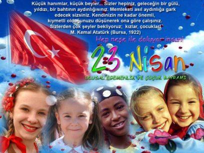 23 Nisan Cocuk Bayrami