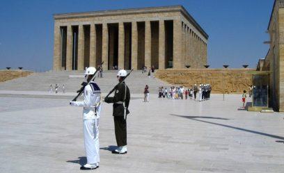 Het Anitkabir van Ataturk in Ankara
