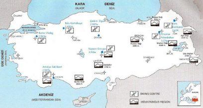 Skigebieden Turkije