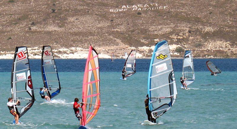 Surfen in Alacati