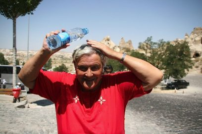 Slim om veel water mee te nemen, niet alleen om te drinken!