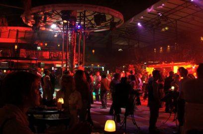Een van de vele discotheken in de Barstreet van Marmaris