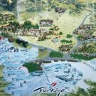 Pamukkale Hierapolis Plattegrond