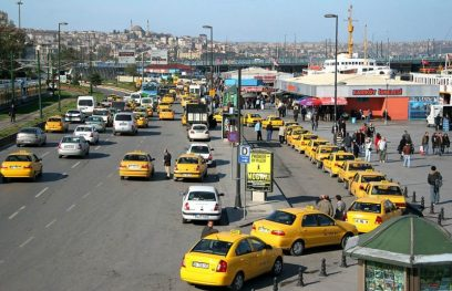 Taxi's in Istanbul