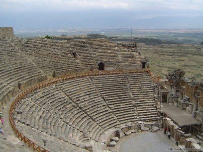 Het theater in Hiërapolis
