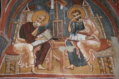 In de kerken van Cappadocie