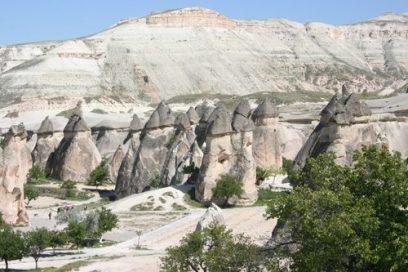 Cappadocie vanuit de ballon