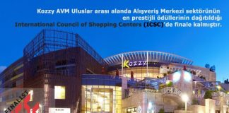 Kozzy Shopping Center benoemd tot beste nieuwe winkelcentrum