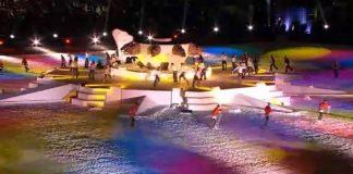 Opening van de Universiade 2011 in Erzurum