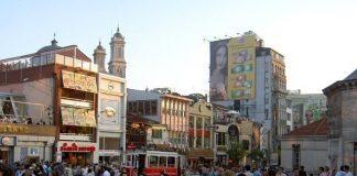 Taksim Plein wordt verkeersvrij