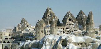 Kapadokya, Cappadocie (Tufsteen Landschap)