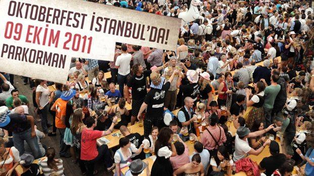 Oktoberfest in Istanbul