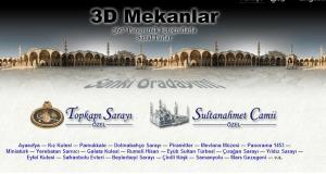 3D Website met culturele bezienswaardigheden van Turkse ingenieur succesvol