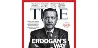 Erdoğan haalt cover Time magazine