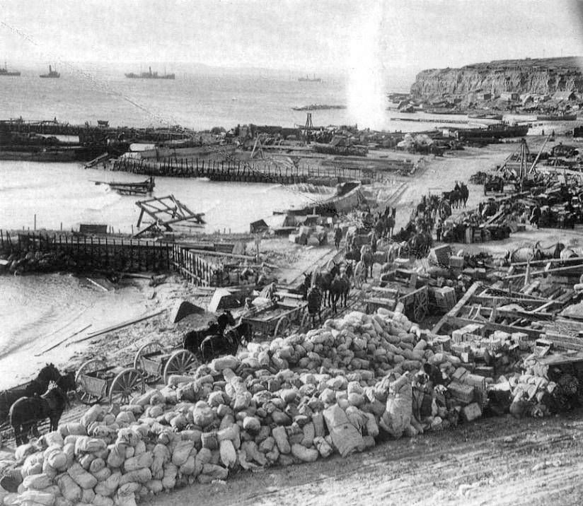 Gallipoli ANZAC Strand 1915