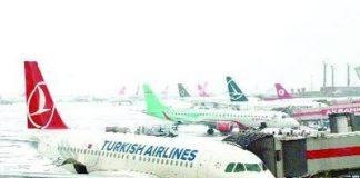 Veel Turkse vluchten geannuleerd
