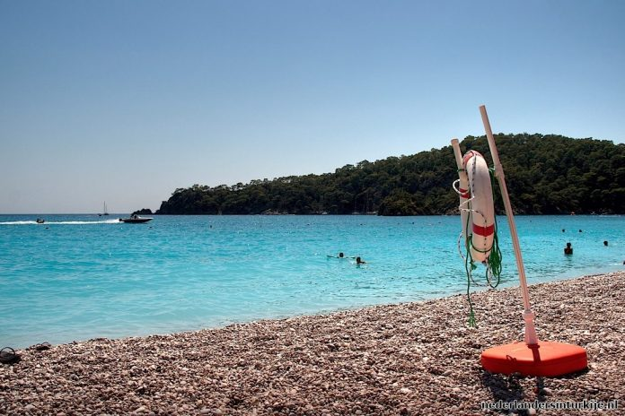 Fethiye Marmaris beste strand van Europa