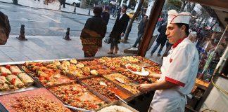 Toeristen Turkije geld Eten en Drinken