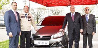 Fiat presenteert als eerst de nieuwe Linea 2012 in Turkije
