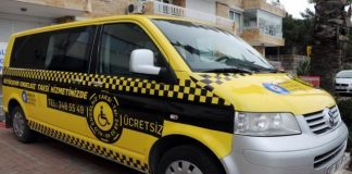 Taxi Service gehandicapten Antalya