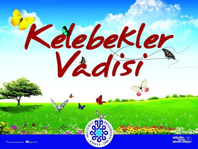 Kelebek Vadisi Konya, Vlindervallei