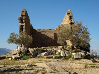 Ruïnes bij Herakleia