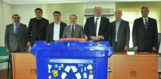 Ministerie van Milieu gaat vuilniszakken project invoeren