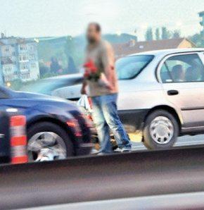 Verkeer verkopers Turkije Istanbul opgepakt