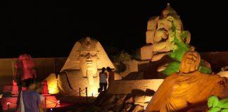 Antalya Sand Sculpture Festival 2012 Lara Beach