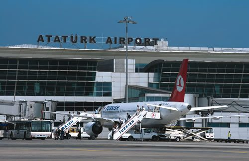 Ataturk Airport Istanbul Turkije