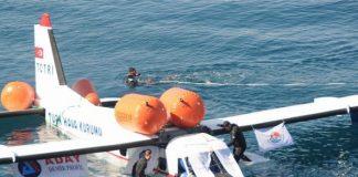 Vliegtuig tot zinken gebracht in Antalya voor duikers