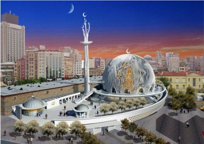 Yeni Taksim Camii Proje Istanbul