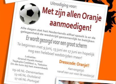 Wedstrijden Oranje kijken in Istanbul EK 2012