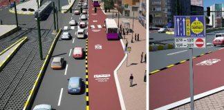 Aparte busbanen in Istanbul moeten verkeersdrukte verminderen