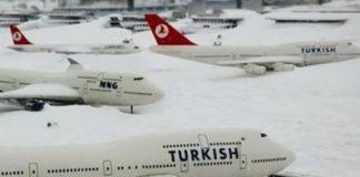 Turkse luchthavens klaar voor de winter