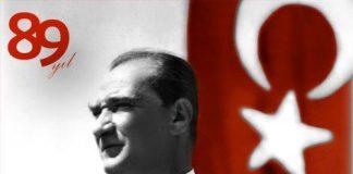 De Republiek Turkije bestaat vandaag 89 jaar. Mustafa Kemal Ataturk