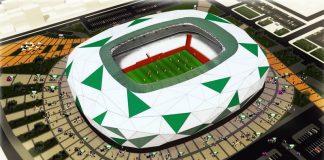 Nieuw voetbalstadion Konya