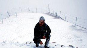 Sneeuwpret in Antalya