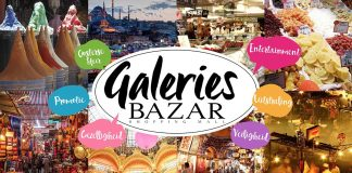 galeries bazar shopping mall