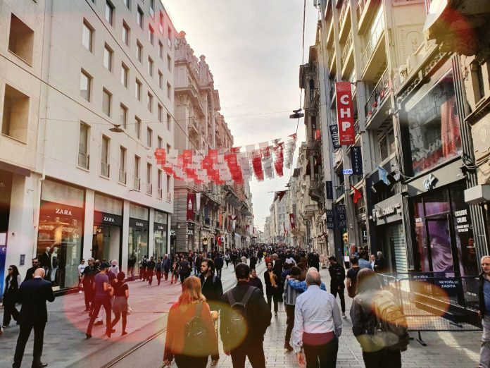 Istanbul Istiklal Caddesi